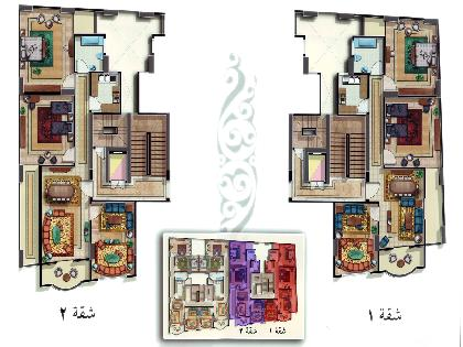 Sell Apartment - 3 Rooms - Qena - 110 meter - 2000 Egyptian pound